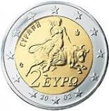 2 euro (other side, country Greece) 2